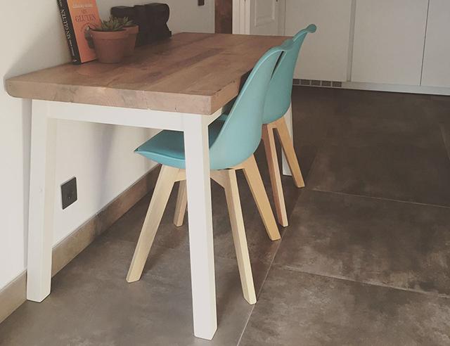 Mesas De Cocina Antiguas. Fabulous Muebles De Cocina Con Chalk Paint ...